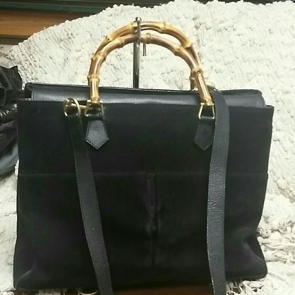d5abc826685 Gucci Handbags - Authentic Gucci bamboo two way